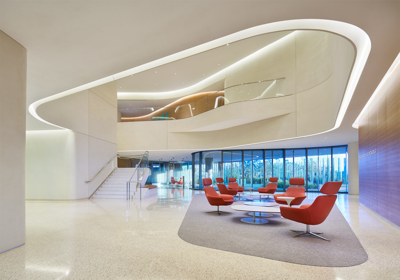 UC San Diego, Jacobs Medical Center by Yazdani Studio of CannonDesign