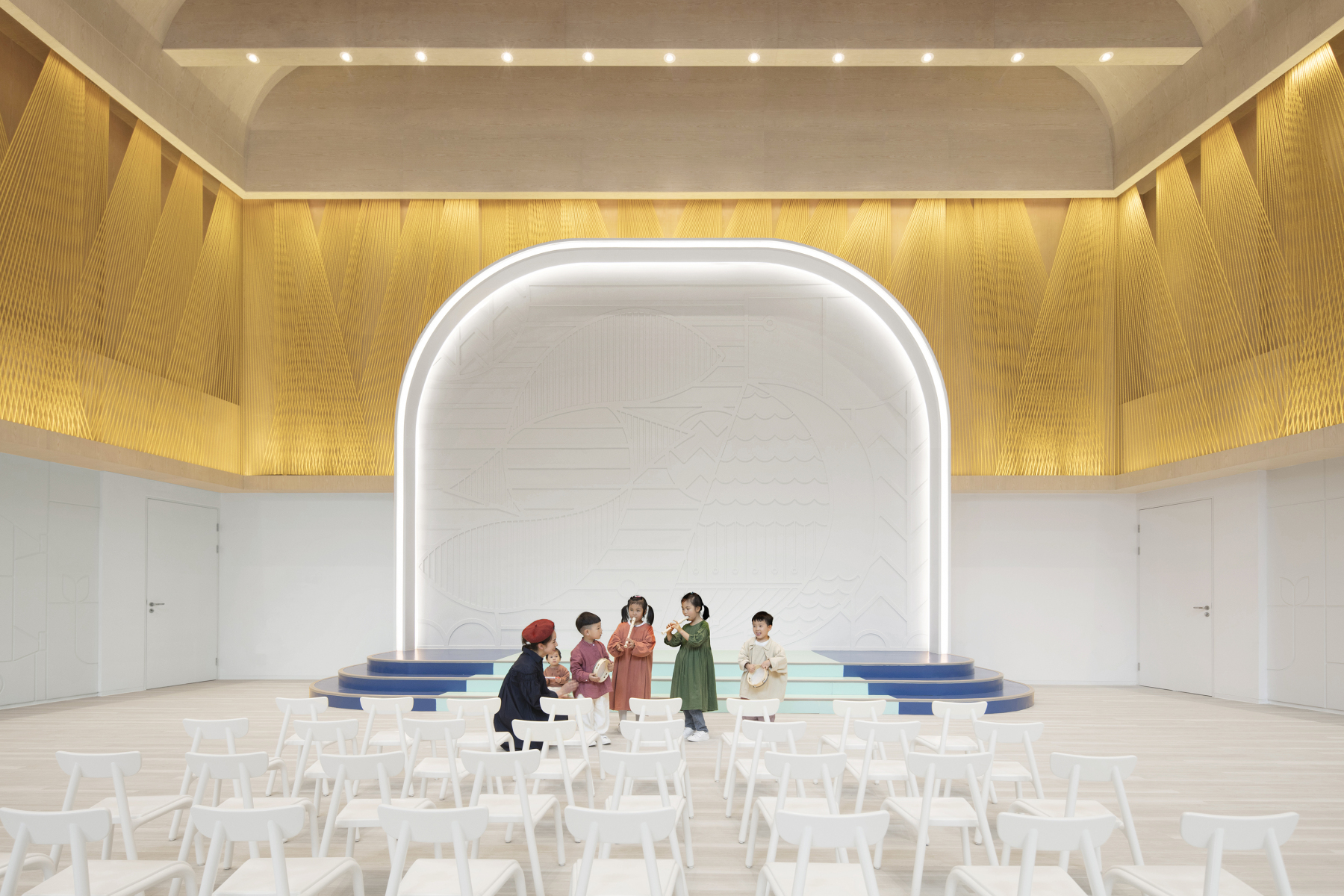 Blossom School by Karv One Design